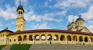 Orthodox Church panorama Royalty Free Stock Photo