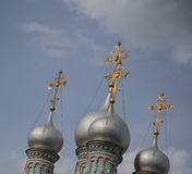Orthodox church. Part o the orthodox church in Moscow Royalty Free Stock Photos