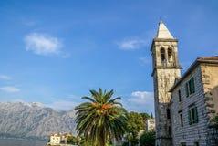 Orthodox Church in Perast, Montenegro Stock Photo