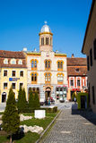 Orthodox Church at Piata Sfatului- the center of Brasov Royalty Free Stock Photography