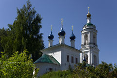Orthodox church in Ples, Russia Stock Photography