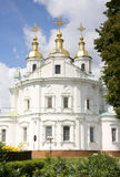 Orthodox church in Poltava Stock Images