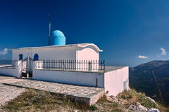 Orthodox Church of the Prophet Elias. On the island of Lefkada Royalty Free Stock Photography