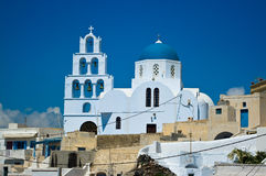 Orthodox Church in Pyrgos. Royalty Free Stock Photography