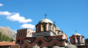 Orthodox Church. Rila Monastery, Bulgaria Royalty Free Stock Images