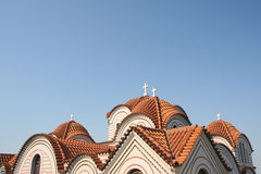 Orthodox church roof Stock Image