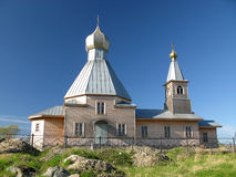 Orthodox church in Russia. (Siberia) - classical architecture Royalty Free Stock Photography