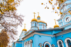 Orthodox church  in  Russia Stock Photography