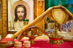 The Orthodox Church in Russia. Royalty Free Stock Photo