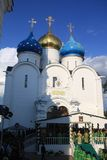 The Orthodox Church in Russia. Stock Images