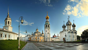 Orthodox Church in Russia, summer, Stock Image
