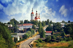 Orthodox Church in Russia, summer, travel Royalty Free Stock Images