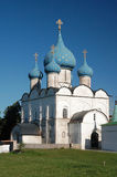 Orthodox church of a Russian Royalty Free Stock Photos
