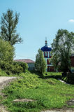 The Orthodox Church in the Russian town of Meshchovsk Kaluga region. In the town of Meshchovsk has a large number of Orthodox churches, temples, cathedrals stock photos