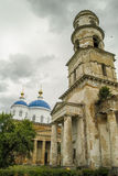 The Orthodox Church in the Russian town of Meshchovsk Kaluga region. In the town of Meshchovsk has a large number of Orthodox churches, temples, cathedrals royalty free stock image