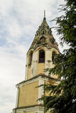 The Orthodox Church in the Russian town of Meshchovsk Kaluga region. In the town of Meshchovsk has a large number of Orthodox churches, temples, cathedrals royalty free stock photo