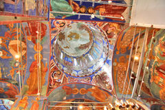 Orthodox church's ceiling Stock Photo