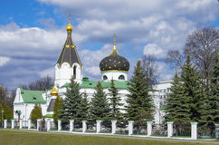 Orthodox church of Saint Mary Magdalene equal to the apostles Stock Image