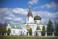 Orthodox church of Saint Mary Magdalene equal to the apostles Stock Photos