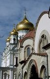 Orthodox church in Saint Petersburg Stock Photography