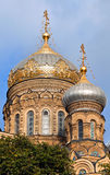 Orthodox Church in Saint-Petersburg. Russia Stock Photos