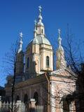 Orthodox church in Saint Petersburg, Russia. Stock Photo