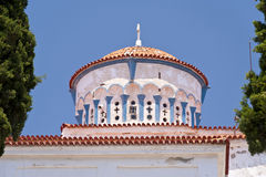 Orthodox Church on Samos Stock Photography