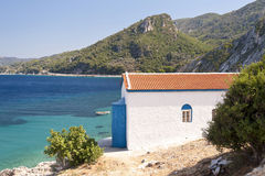 Orthodox Church on Samos Stock Photo