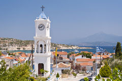 Orthodox Church on Samos Stock Photo