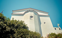 Orthodox church, Samos, Greece Royalty Free Stock Photography