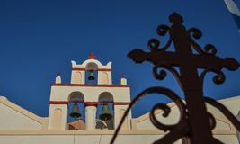 Orthodox Church on Santorini Island royalty free stock photography