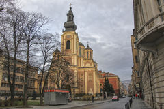 Orthodox church in Sarajevo Royalty Free Stock Image