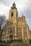 Orthodox church in Sarajevo Royalty Free Stock Photos