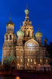 The Orthodox Church of the Savior on Blood. Stock Images