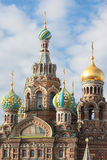 Orthodox Church of the Savior on blood. Saint-Petersburg, Russia Royalty Free Stock Images