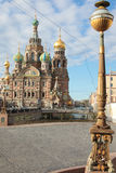 Orthodox Church of the Savior on blood. Saint-Petersburg, Russia Royalty Free Stock Image