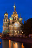 Orthodox Church of the Savior on Spilled Blood Stock Photography