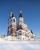 Orthodox church in Siberia Stock Image
