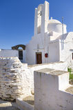 Orthodox church in Sifnos island, Cyclades, Greece Royalty Free Stock Image