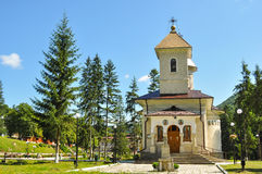 Orthodox Church of Slanic Moldova. Stock Photos