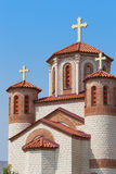 Orthodox Church. Small Orthodox Church. New Church St. John the Baptist, Skopje, Macedonia Stock Image