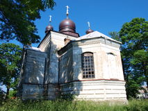 Orthodox church, Sosnowica, Poland Royalty Free Stock Photos