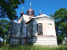 Orthodox church, Sosnowica, Poland Royalty Free Stock Photos
