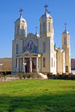 Orthodox church in south romania. Saint andrew orthodox church in dobrogea - south romania Royalty Free Stock Images