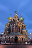 Orthodox Church Spas na Krovi in Saint Petersburg Stock Image