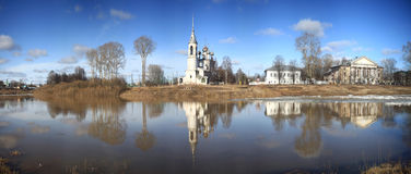Orthodox Church, Spring Vologda, Russia Stock Images