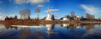 Orthodox Church, Spring Vologda, Russia Royalty Free Stock Images