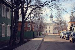 Orthodox Church, Spring Vologda, Russia Stock Photography