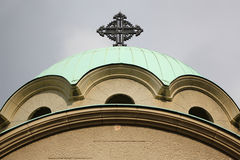Orthodox Church of St. Archangel Gabriel Royalty Free Stock Photos