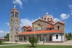 Orthodox Church of St. George, Idalion. Cyprus Royalty Free Stock Image